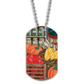 Full Color Fruits & Veggies Dog Tag