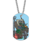 Full Color Garden Gear Dog Tag
