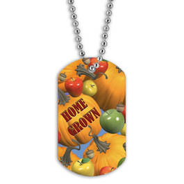 Full Color Home Grown Dog Tag