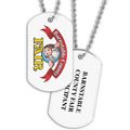 Custom Fair, Festival & 4-H Dog Tag w/ Print on Back