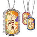 Full Color GEM Celebrate Fall Dog Tag