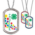 Full Color GEM Cloverbud Dog Tag