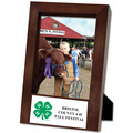 Espresso Hard Wood Fair, Festival & 4-H Award Frame