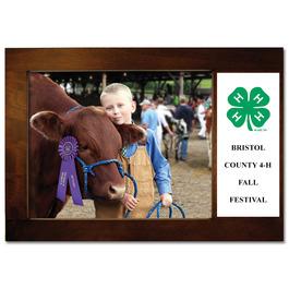 Espresso Hard Wood Fair, Festival & 4-H Award Frame
