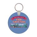 Round Horse Show Keychain