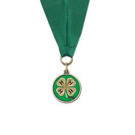CXC Color Fill Fair, Festival & 4-H Award Medal w/ Grosgrain Neck Ribbon