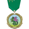 XBX  Fair, Festival & 4-H Award Medal w/ Satin Neck Ribbon