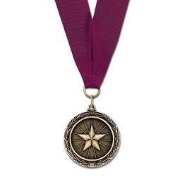 MX Fair, Festival & 4-H Award Medal w/ Grosgrain Neck Ribbon