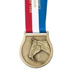 VX Fair, Festival & 4-H Award Medal w/ Specialty Satin Neck Ribbon