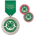GEM Fair, Festival & 4-H Award Medal w/ Satin Drape