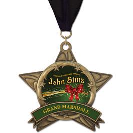 AS14 All Star Fair, Festival & 4-H Award Medal w/ Grosgrain Neck Ribbon