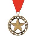 Rising Star Fair, Festival & 4-H Award Medal w/ Grosgrain Neck Ribbon