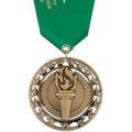 Rising Star Fair, Festival & 4-H Award Medal w/ Satin Neck Ribbon