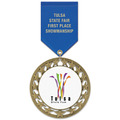 RS14 Fair, Festival & 4-H Award Medal w/ Satin Drape