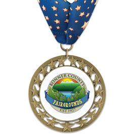 RS14 Fair, Festival & 4-H Award Medal w/ Millennium Neck Ribbon