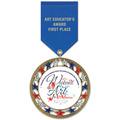 RSG Fair, Festival & 4-H Award Medal w/ Satin Drape