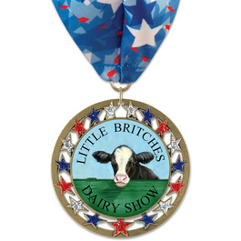 RSG Fair, Festival & 4-H Award Medal w/ Millennium Neck Ribbon