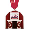 Birchwood Stock Shape Fair, Festival & 4-H Award Medal w/ Satin Neck Ribbon