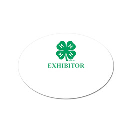 Oval Fair, Festival & 4-H Stick-On Name Tag