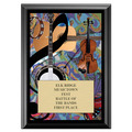 Folk Award Plaque - Black