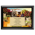 Wagon Award Plaque - Black