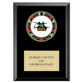 RSG Fair, Festival & 4-H Award Medal Plaque - Black Finish