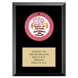 GEM Fair, Festival & 4-H Medal Award Plaque - Black Finish