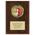 XBX Fair, Festival & 4-H Medal Award Plaque - Cherry Finish