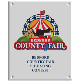 Full Color Wall Fair, Festival & 4-H Plaques - Rectangle Shape