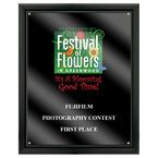 Full Color Fair, Festival & 4-H Award Plaque - Black w/ Acrylic Overlay
