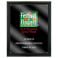 Full Color Fair, Festival & 4-H Award Plaque - Black w/ Acrylic Overlay