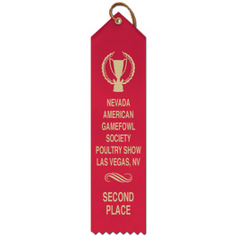 Point Top Award Ribbon