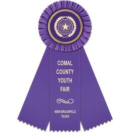 Mere Fair, Festival & 4-H Rosette Award Ribbon