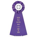 Empire Fair, Festival & 4-H Rosette Award Ribbon