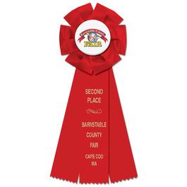 Beauty Fair, Festival & 4-H Rosette Award Ribbon