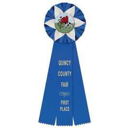 Ewell Fair, Festival & 4-H Rosette Award Ribbon