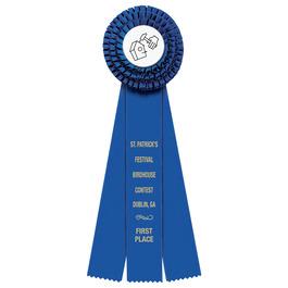 Dover Fair, Festival & 4-H Rosette Award Ribbon