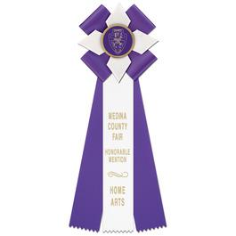 Dorset Fair, Festival & 4-H Rosette Award Ribbon