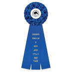 Rutland Fair, Festival & 4-H Rosette Award Ribbon