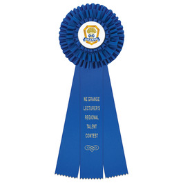 Regent Fair, Festival & 4-H Rosette Award Ribbon