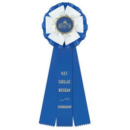 Shetland Fair, Festival & 4-H Rosette Award Ribbon