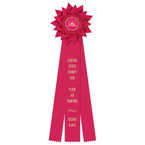 Sunburst Fair, Festival & 4-H Rosette Award Ribbon