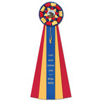 Newton Fair, Festival & 4-H Rosette Award Ribbon