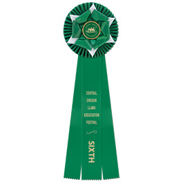 Wheaton Fair, Festival & 4-H Rosette Award Ribbon