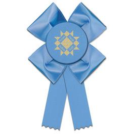 Clover Rosette Award Ribbon