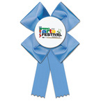 Clover Fair, Festival & 4-H Rosette Award Ribbon