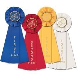 Stock Equestrian Empire Rosette Award Ribbon