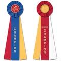 CH or RCH Equestrian Stock Rosette Award Ribbon