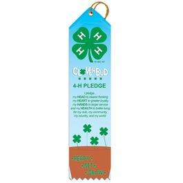 Clover Pledge Award Ribbon