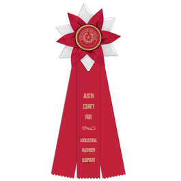 Wales Fair, Festival & 4-H Rosette Award Ribbon